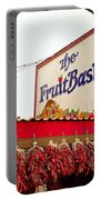 Fruit Basket Stand Portable Battery Charger