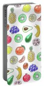 Fruit Pattern  Portable Battery Charger