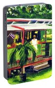 Fruit Stand North Shore Oahu Hawaii #163 Portable Battery Charger