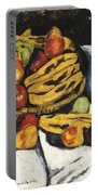 Fruit Still Life By Marsden Hartley Portable Battery Charger