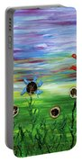 Fruity Flowerfield Portable Battery Charger