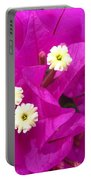 Fuchsia Flowers Portable Battery Charger