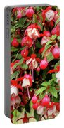 Fuchsia Pastel Portable Battery Charger