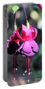 Fuchsias Indian Maid Portable Battery Charger