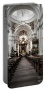 Fulda Cathedral Inside Portable Battery Charger