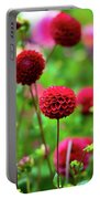 Full Bloom Reds Portable Battery Charger
