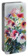 Floral Portable Battery Charger