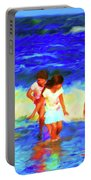 Fun At The Beach Portable Battery Charger