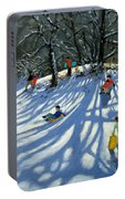 Fun In The Snow Portable Battery Charger