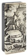 Funeral Of Hercules Portable Battery Charger