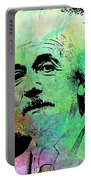 Funky Einstein  Portable Battery Charger