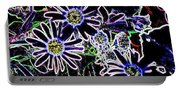 Funky Flowers Portable Battery Charger