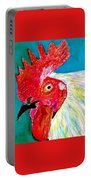 Funky Rooster Portable Battery Charger