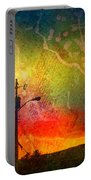 Funky Sunset Portable Battery Charger