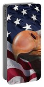 Funny Flag Portable Battery Charger