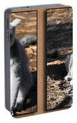Funny Lemurs Portable Battery Charger