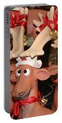 Funny Reindeer Portable Battery Charger