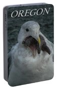 Funny Seagull With Starfish Portable Battery Charger