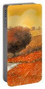fuoco di Toscana Portable Battery Charger by Guido Borelli