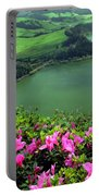 Furnas Lake Azores Portable Battery Charger