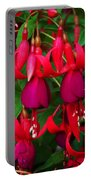 Fuschia Heron Portable Battery Charger