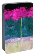Fuschia Trees Portable Battery Charger