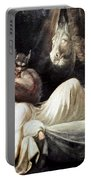 Fuseli: Nightmare, 1781 Portable Battery Charger