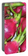 Fushia Fruit Portable Battery Charger