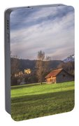Fussen Mountain Scene Portable Battery Charger