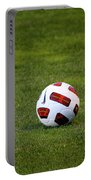 Futbol Portable Battery Charger by Laddie Halupa
