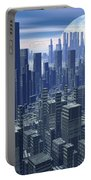Futuristic City - 3d Render Portable Battery Charger