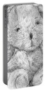 Fuzzy Wuzzy Bear  Portable Battery Charger
