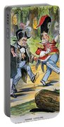 G. Cleveland Cartoon, 1896 Portable Battery Charger