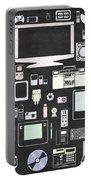 Gadgets Icon Portable Battery Charger by Setsiri Silapasuwanchai