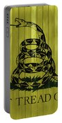 Gadsden Flag Barn Door Portable Battery Charger