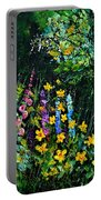 Gaeden Flowers  Portable Battery Charger