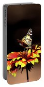 Gaillardia And Butterfly Portable Battery Charger