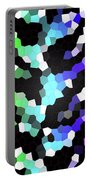 Galaxy In Time Abstract Design Portable Battery Charger
