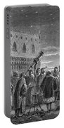 Galileo Demonstrates Telescope, 1609 Portable Battery Charger