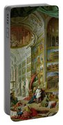 Gallery Of Views Of Ancient Rome Portable Battery Charger