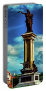 Galveston Statue Portable Battery Charger