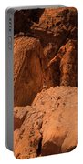Gambels Quail Valley Of Fire Portable Battery Charger
