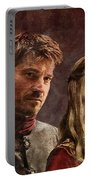 Game Of Thrones. Cersei And Jaime. Portable Battery Charger