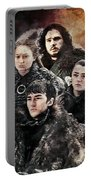 Game Of Thrones.the Last Of Stark. Portable Battery Charger