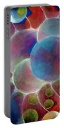 Gamma Burst II Abstract Pattern Art Portable Battery Charger