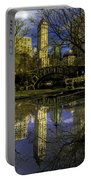 Gapstow Bridge In Central Park Portable Battery Charger