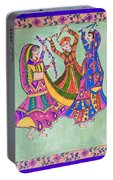 Garba Dance Portable Battery Charger