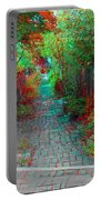 Garden Alley - Use Red-cyan 3d Glasses Portable Battery Charger