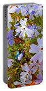 Flower Photography- Floral Art- Digital-floral Fireworks Portable Battery Charger