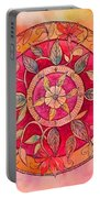 Garden Mandala Portable Battery Charger